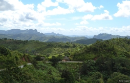 Beautiful landscape near Ranomafana, Madagascar.