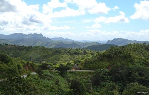 Beautiful landscape near Ranomafana, Madagascar.